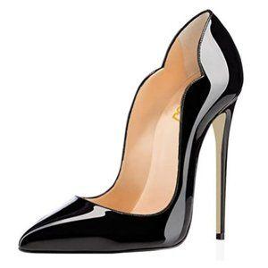 FSJ Classic Pointed Toe High Heels Sexy Stiletto